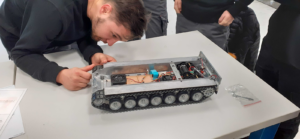 studying the chassis
