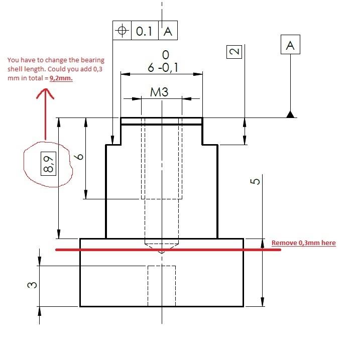 Bearing sheel V2
